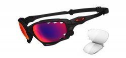 Oakley Matte Black Ink / OO Red Iridium Polarized Vented & Black Iridium