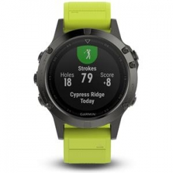 Garmin FENIX 5 Grey, Yellow band
