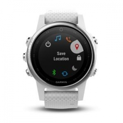 Garmin FENIX 5S Silver, White band