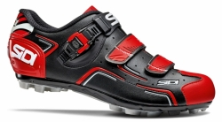 Tretry MTB Sidi Buvel Black-red  2017