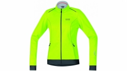 Bunda Gore Element WS SO Lady Jacket - neon yellow/black