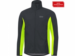 Bunda GORE Bike Wear WS Jacket - black/neon yellow