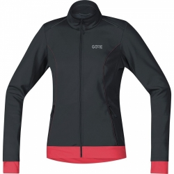 Bunda Gore WS Thermo Jacket wmn Black/Pink