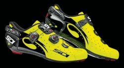 Tretry Sidi WIRE Carbon Vernice - yellow fluo / black