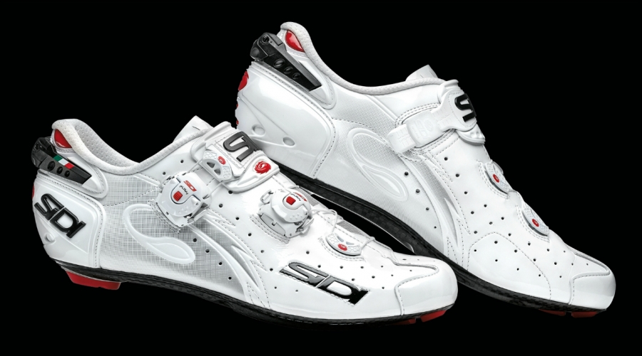 Tretry na bicykel Sidi WIRE Carbon Vernice - White / white