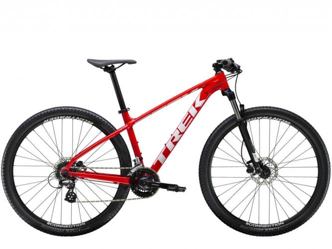 79c5f59687ae0 Horský MTB bicykel TREK Marlin 6 Červený 2019