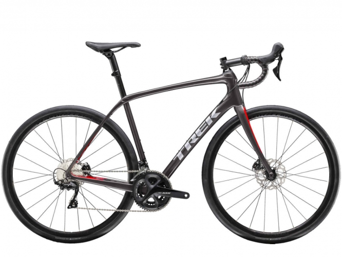 Cestný bicykel TREK Domane SL 5 Disc Dnister Black/Viper Red 2019